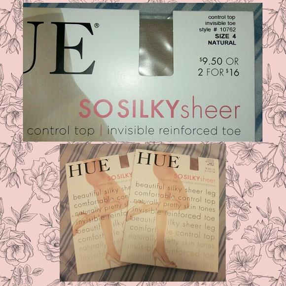 211f8e45f Lot of 2 So Silky Sheer Natural Pantyhose Sz 4